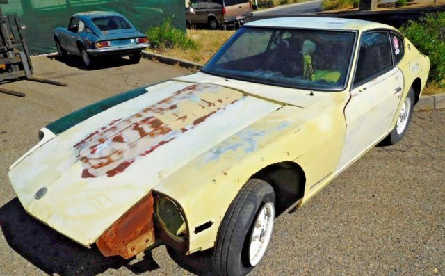 1971 Datsun 240Z- Rustfree Project-Builder- Go Stock or Go ...