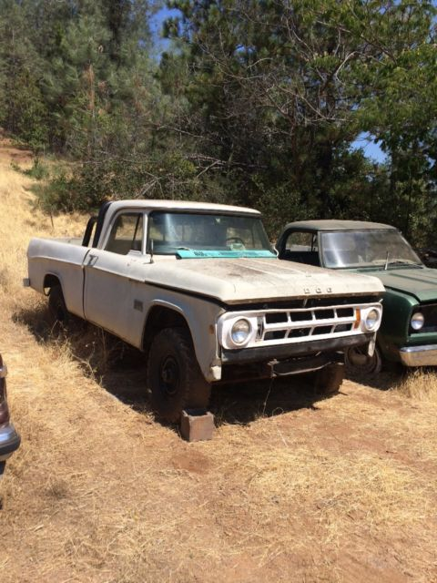 1971 Dodge Charger: 1971 Dodge 4x4 Truck Dodge Other For Sale