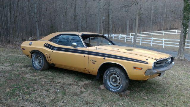1971 Dodge Challenger RT Original barn find project for sale - Dodge