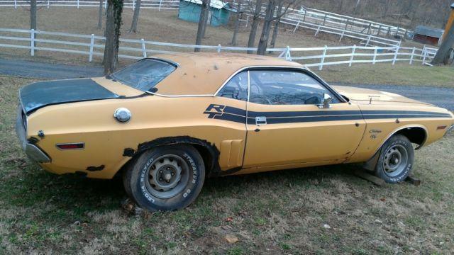 1971 Dodge Challenger RT Original barn find project for ...