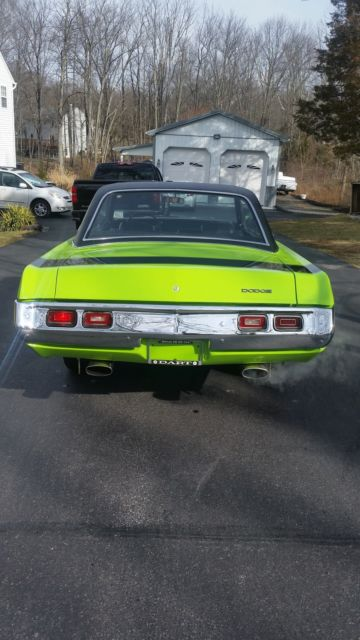 1971 Dodge Charger: 1971 Dodge Dart Swinger Mopar Plymouth 1970 1969 1972 1968