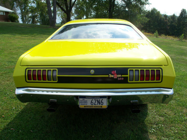 1971 DODGE DEMON 340 - tribute for sale - Dodge DEMON 340