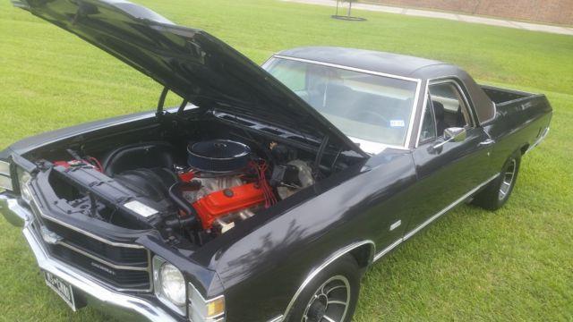 1971 El Camino Original Engine Amp Wheels 100 Reliable