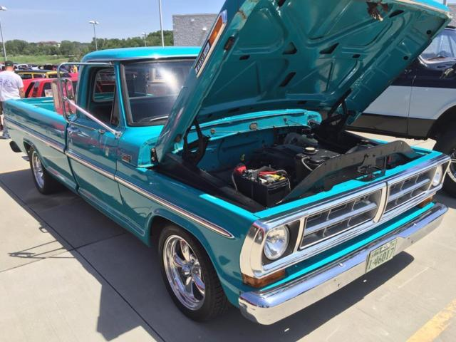 1971 f100 4 6 Crown Vic swap lowered for sale - Ford F-100