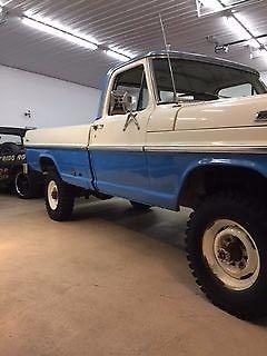 1971 F100, F250, 4X4, Highboy Texas Ford Truck. Low ...