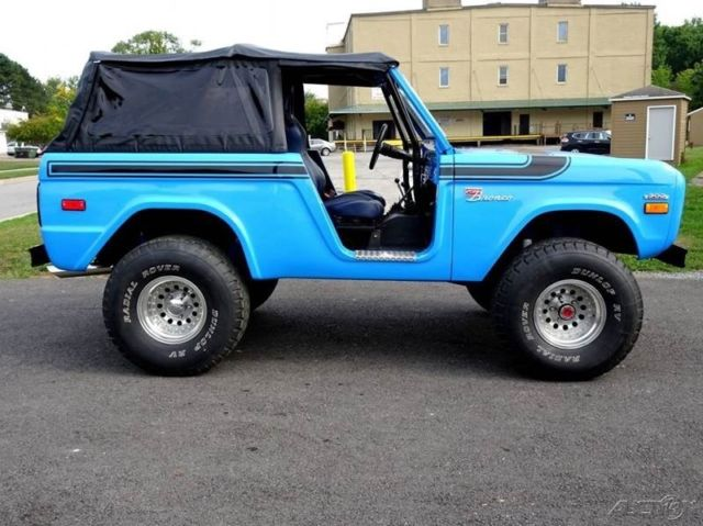 1971 Ford Bronco Soft Top Custom 4X4 Low Reserve Awesome ...