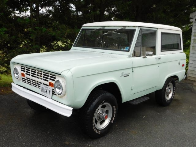 1971 ford bronco with 2 4 liter bmw m21 turbo diesel engine 3 on the tree for sale ford. Black Bedroom Furniture Sets. Home Design Ideas