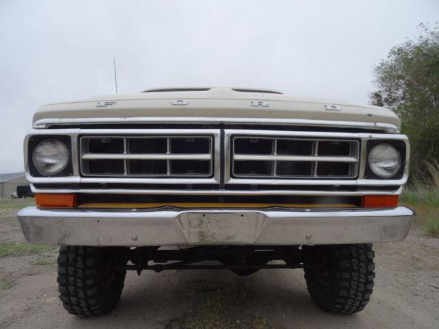 1971 Ford F100 4x4 For Sale.html | Autos Weblog