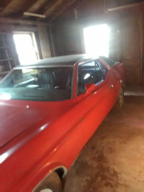 1971 Ford Mustang Grande, 351Cleveland Engine, all original for sale