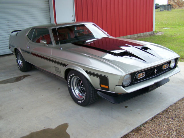 1971 ford mustang mach 1 cobrajet numbers matching 1 of. Black Bedroom Furniture Sets. Home Design Ideas
