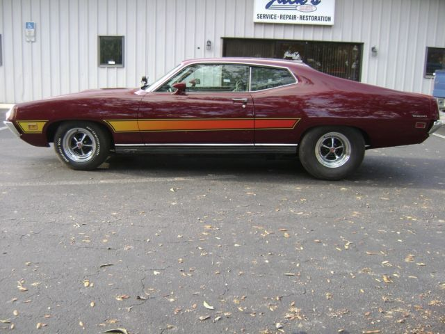1971 Ford Torino GT C-code 429 Cobra Jet 502 Cubic Inch Hot Rod Street Fighter for sale - Ford