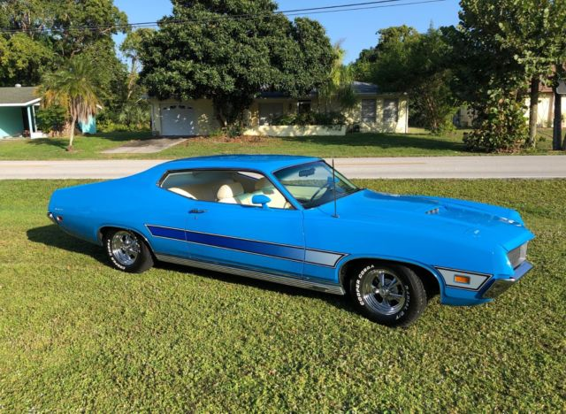 1971 FORD TORINO GT FASTBACK - GROUND UP RESTORATION