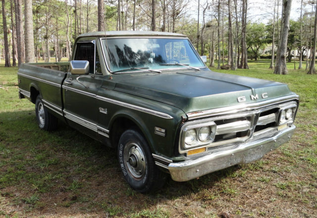 1971 gmc custom classic 1 2 ton long bed c 10 pickup truck 350 auto for sale gmc other 1971. Black Bedroom Furniture Sets. Home Design Ideas
