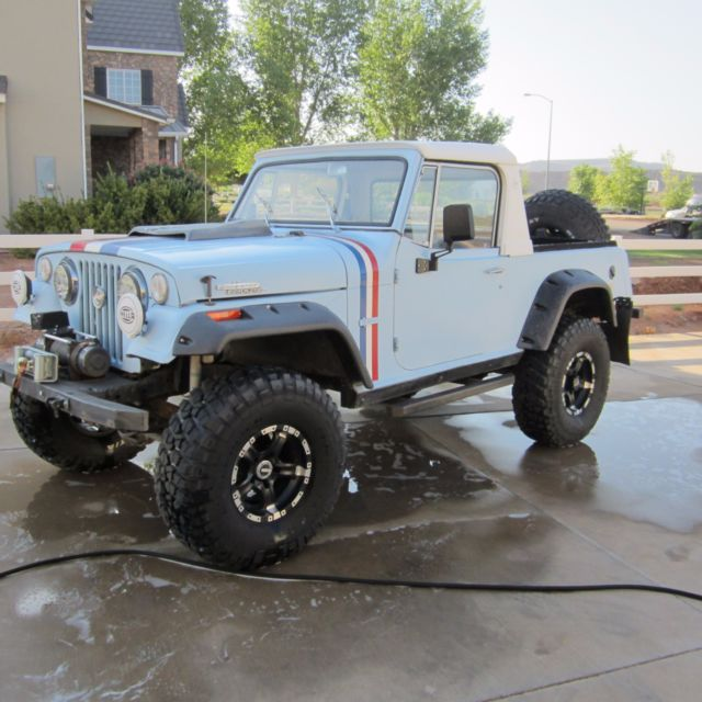 1971 jeepster commando hurst edition for sale jeep. Black Bedroom Furniture Sets. Home Design Ideas