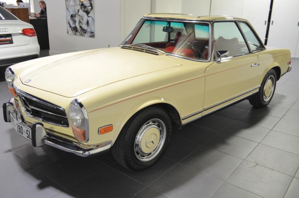 1971 mercedes benz 280 sl 59455 miles beige tan automatic for Mercedes benz sl280 for sale