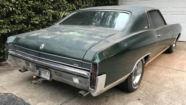 1971 Monte Carlo Ss454 For Sale