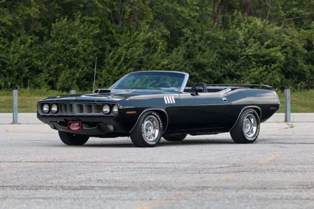 1971 Plymouth Cuda Convertible 440 6 Pack Power Steering