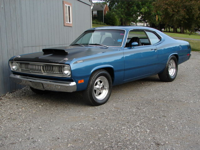 1971 plymouth duster 340 b7 blue, restored show car, disc brakes1971 plymouth duster 340 b7 blue, restored show car, disc brakes, power steering