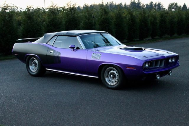 1971 plymouth hemi cuda convertible tribute 426 crate motor 5 speed stunning for sale. Black Bedroom Furniture Sets. Home Design Ideas