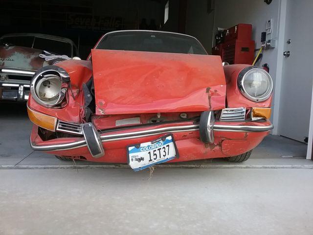 1971 porsche 911t damaged front end in 2001 motor free 60k for Colorado springs motor vehicle registration