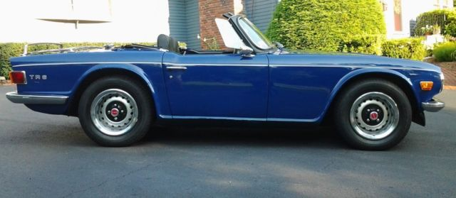 1971 Triumph Tr6 Roadster For Sale Triumph Tr 6 1971 For Sale In