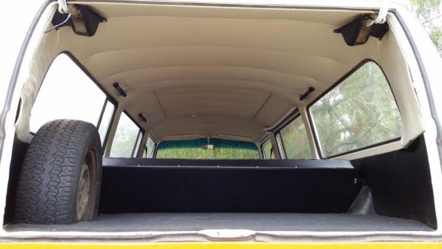 1971 Volkswagen Bus 1971 Vw Bus Orange White Sunroof Added