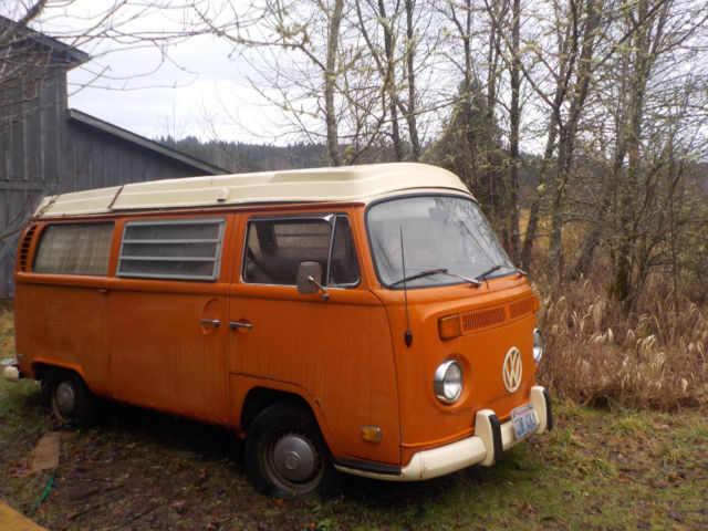 volkswagen camper van pop top  sale volkswagen busvanagon   sale  tenino