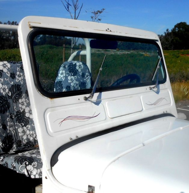 "1971 VW ""VEEP"" Willy's Style Jeep Volkswagen Kit Car"
