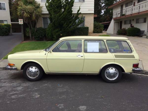 1971 VW 411 Squareback (Type 4) - 59,000 Miles! for sale