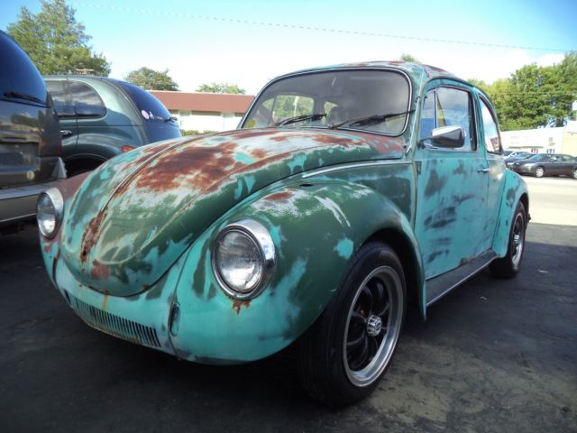 1971 vw beetle 71 volkswagen bug barn find patina rat rod vw bug air cooled vw for sale. Black Bedroom Furniture Sets. Home Design Ideas
