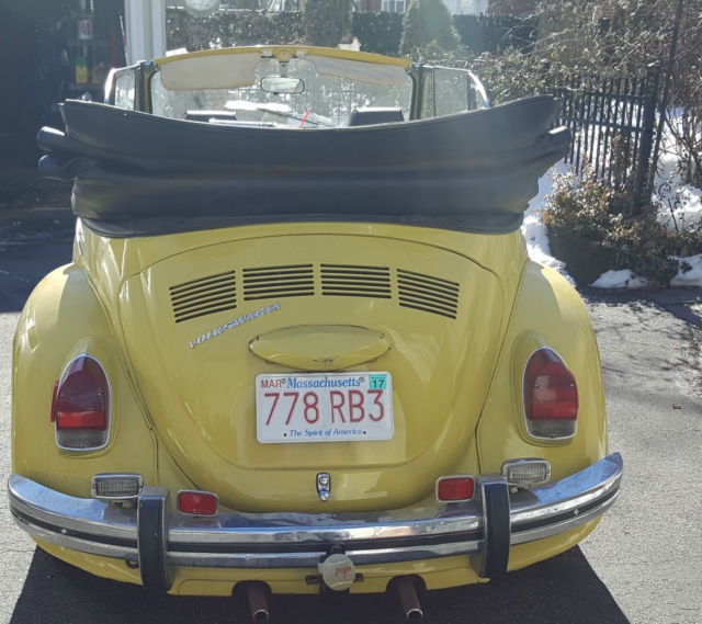 1971 VW Beetle Convertible Estate Car, 81,000 Miles For