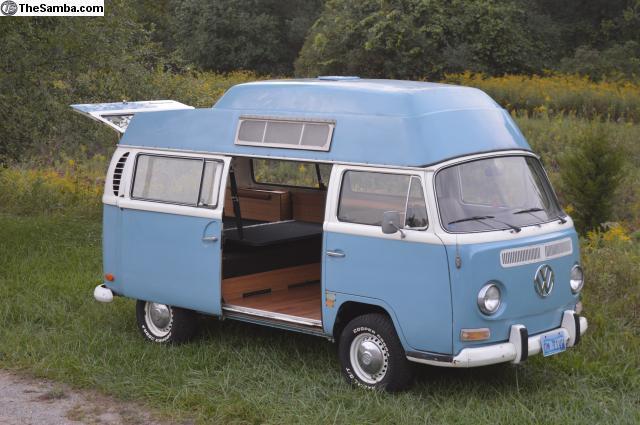 c27360a41e 1971 VW Bus Camper! California High Top AdventureWagen WATCH VIDEO!! for  sale - Volkswagen Bus Vanagon AdventureWagen 1971 for sale in Saginaw