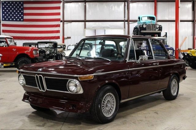 1972 bmw 2002 85454 miles malaga red coupe 2 0l 4cyl 4. Black Bedroom Furniture Sets. Home Design Ideas