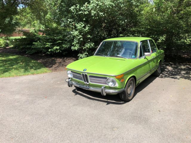 1972 bmw 2002tii vin 2761556 for sale bmw 2002 1972 for sale in sewickley pennsylvania. Black Bedroom Furniture Sets. Home Design Ideas