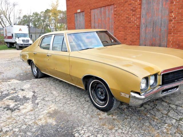 1972 buick skylark 4 door survivor for sale buick skylark 1972 for sale in antioch illinois. Black Bedroom Furniture Sets. Home Design Ideas