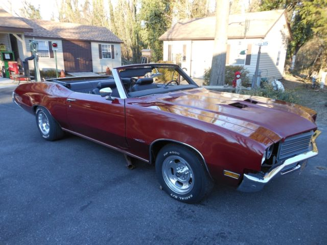 1972 buick skylark custom convertible w gs hood project much done for sale buick skylark 1972. Black Bedroom Furniture Sets. Home Design Ideas