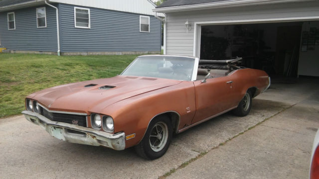 1972 buick skylark gs convertible for sale buick skylark 1972 for sale in point pleasant west. Black Bedroom Furniture Sets. Home Design Ideas