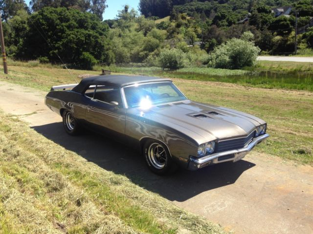 1972 buick skylark gs convertible fun ca car not 442 gto chevelle ss for sale buick skylark gs. Black Bedroom Furniture Sets. Home Design Ideas