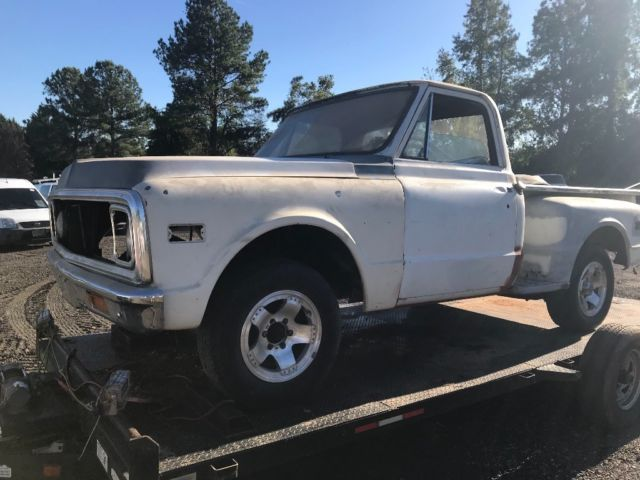 1972 C10 shortbed project With LS swap parts for sale - Chevrolet C