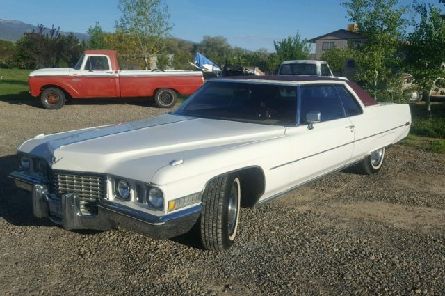 1972 cadillac coupe deville no reserve 472 big block youtube video for sale cadillac deville. Black Bedroom Furniture Sets. Home Design Ideas