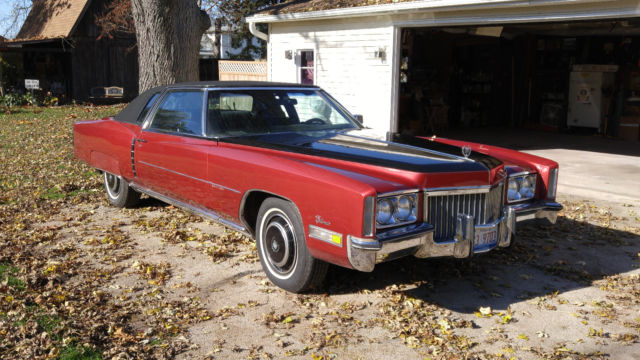 1972 cadillac eldorado 500 c i for sale cadillac eldorado 1972 for sale in rockton illinois for 1972 cadillac eldorado interior