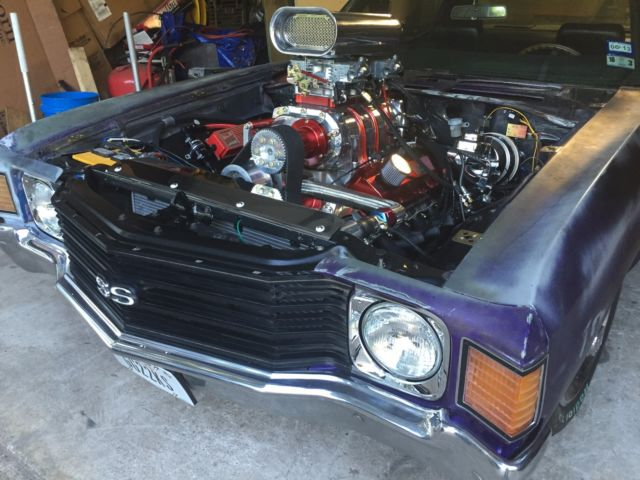 1972 CHEVELLE - FRESH 454 & 6-71 BLOWER Pick Your Color for sale - Chevrolet Chevelle SS Clone ...