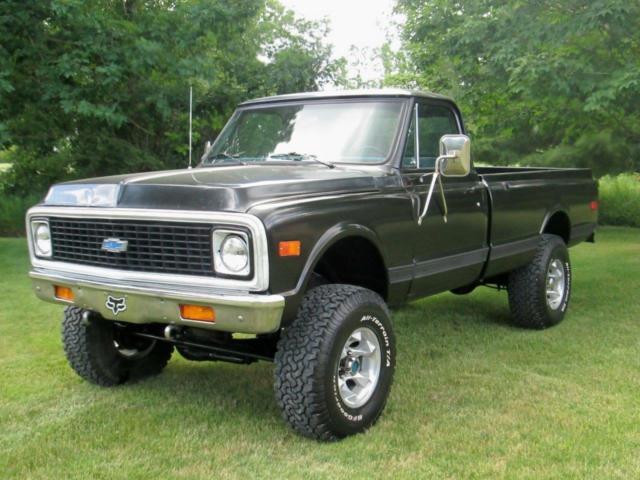 1972 chevrolet 4x4 3 4 ton c k 20 pickup truck 350 eng long box for sale chevrolet c k pickup. Black Bedroom Furniture Sets. Home Design Ideas