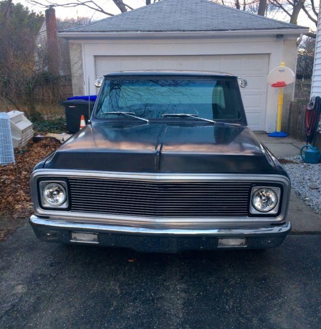 1972 chevrolet c 10 400 sbc classic pickup truck long bed edelbrock msd jegs for sale. Black Bedroom Furniture Sets. Home Design Ideas