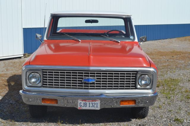 Chevrolet Of Gadsden >> 1972 Chevrolet C-10 Cheyenne Long Bed! All Original, rust free, Numbers Match AC for sale ...