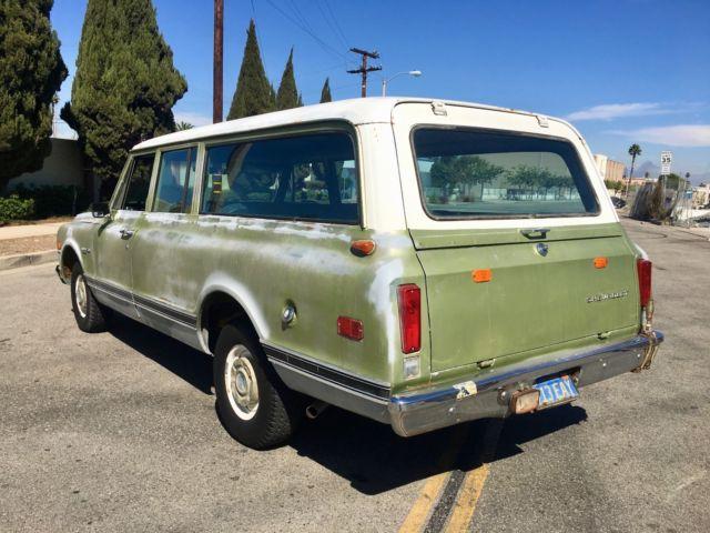 1972 Chevrolet C10 C-10 Suburban - BARN FIND ROCK SOLID