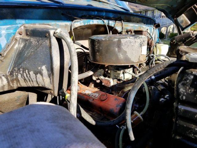 1972 CHEVROLET C50 TRUCK 15575 ORIGINAL MILES BARN FIND NOT