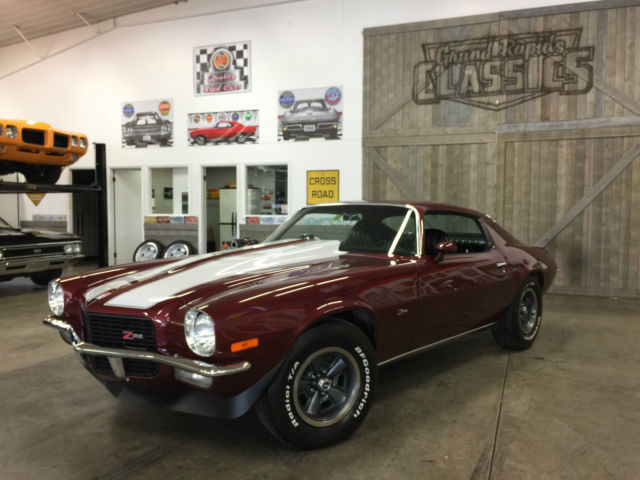 1972 chevrolet camaro ls2 4 speed z28 badges fresh restoration for sale chevrolet. Black Bedroom Furniture Sets. Home Design Ideas