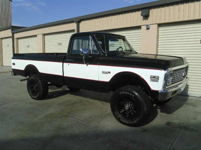 1972 chevrolet k20 4x4 pickup truck 3 4 ton for sale chevrolet cheyenne 1972 for sale in. Black Bedroom Furniture Sets. Home Design Ideas
