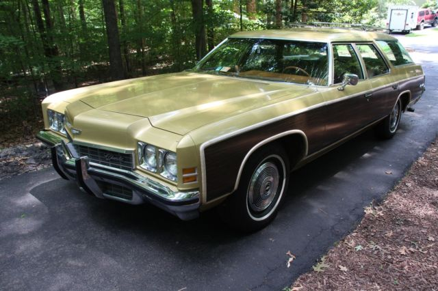 1972 Chevrolet Kingswood Estate Wagon Survivor Barn Find ...